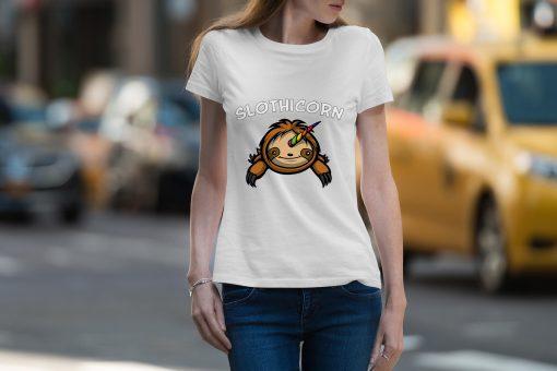Slothicorn Magical Unicorn Sloth T Shirt