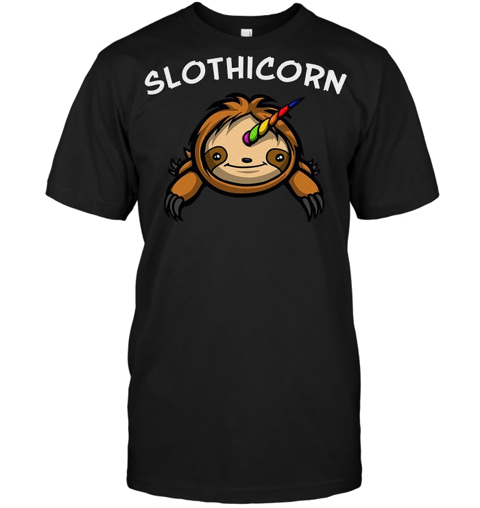 Slothicorn Magical Unicorn Sloth T Shirt