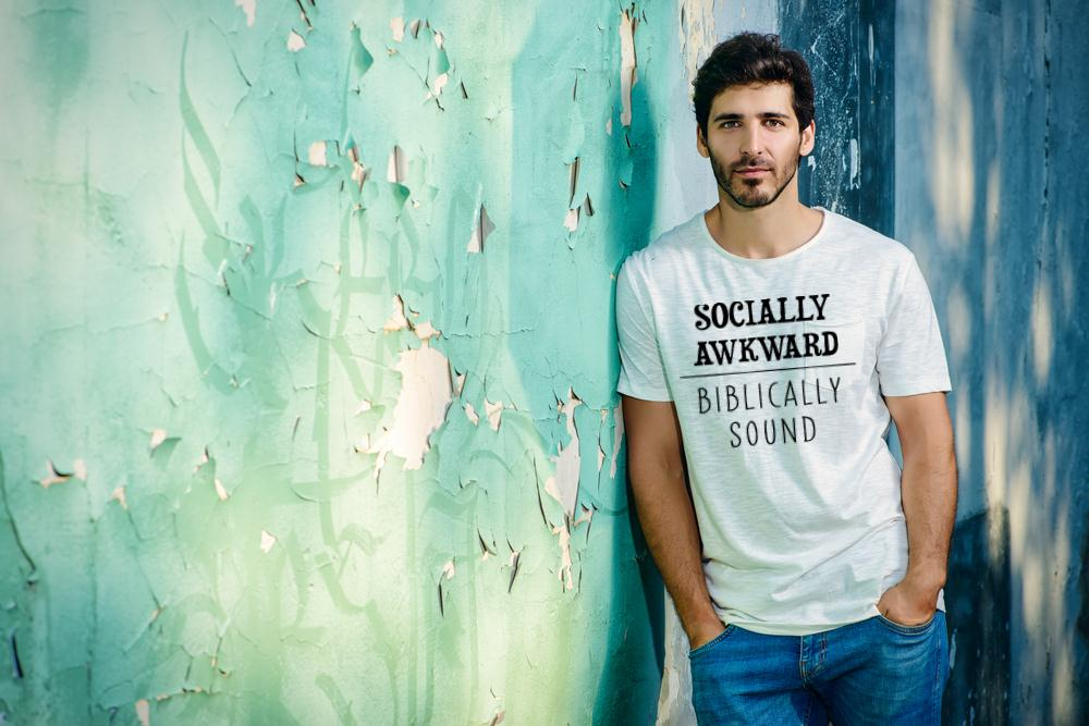 Socially Biblically Sound T Shirt