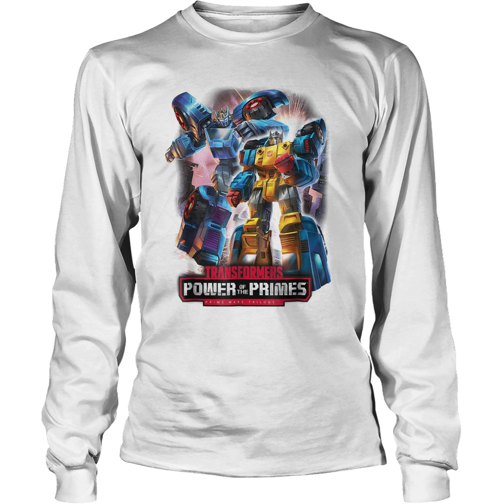 Transformers Power Of The Prime Wars Trilogy T-Shirt Longsleeve Tee Unisex