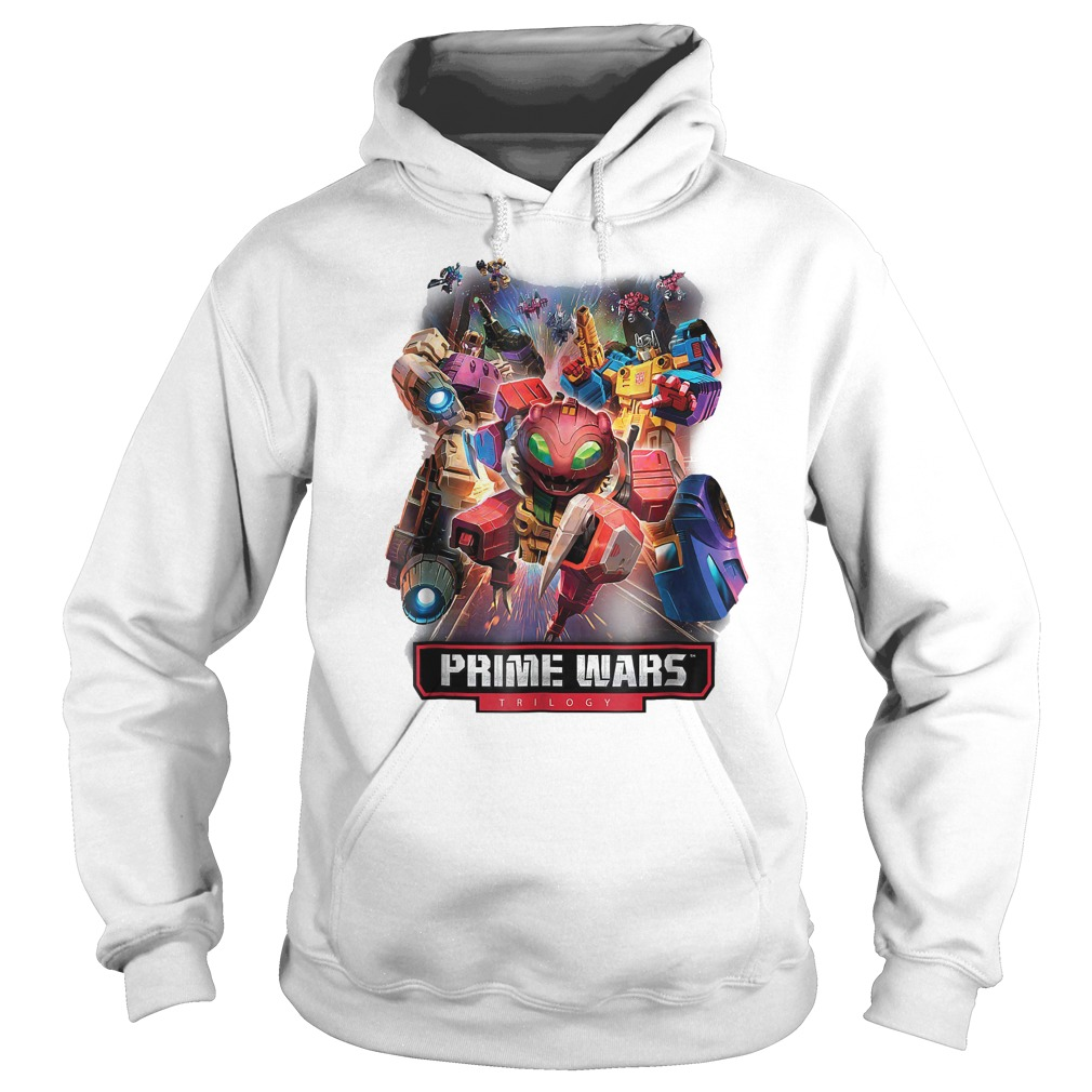 Transformers Prime Wars Trilogy T-Shirt Hoodie