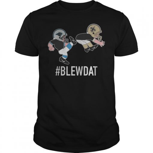 Blewdat Carolina Panthers Kick Ass New Orleans Saint T Shirt Classic Guys Unisex Tee.jpg