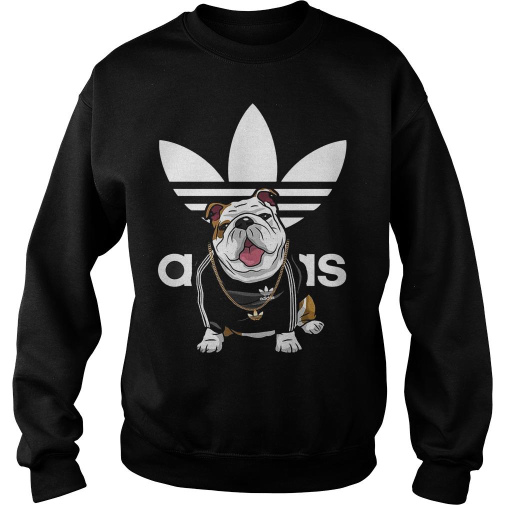 Adidas Bulldog shirt Sweatshirt Unisex