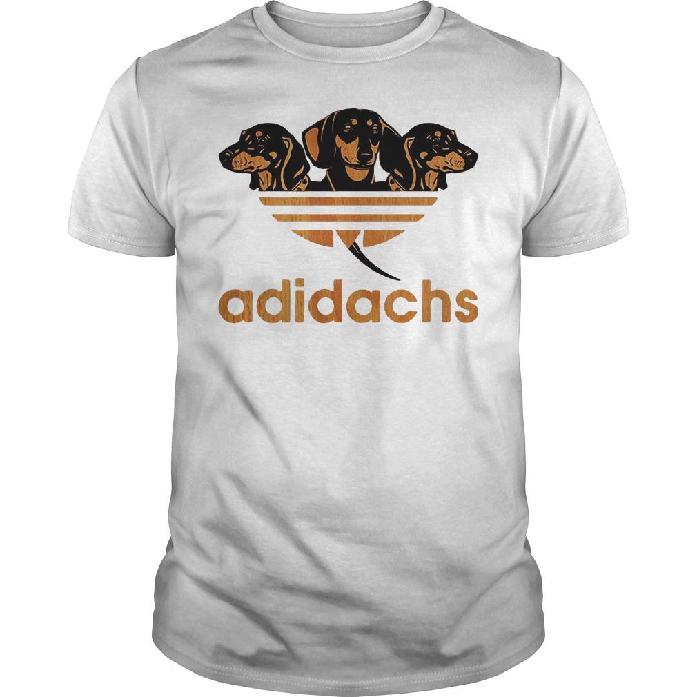 Adidas Dachshund Adidachs Shirt