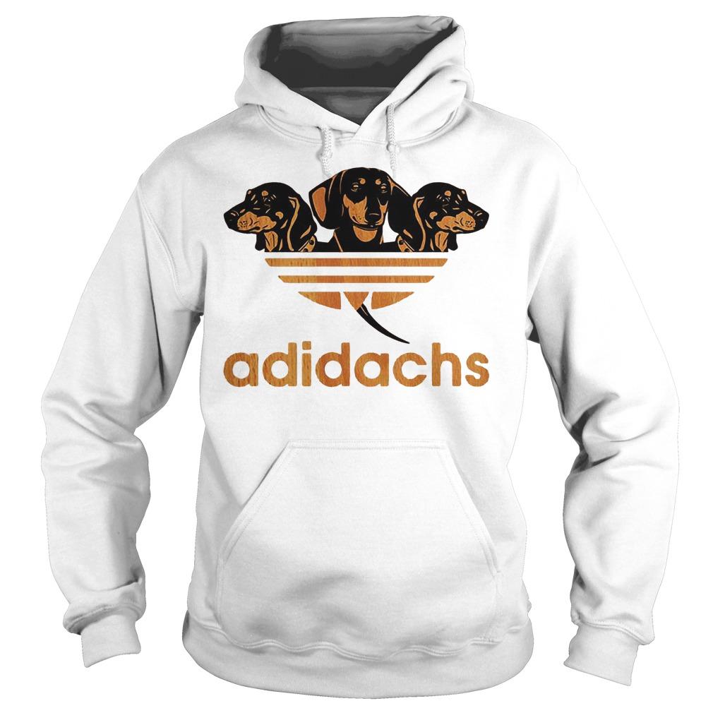 Adidas Dachshund Adidachs Shirt Hoodie