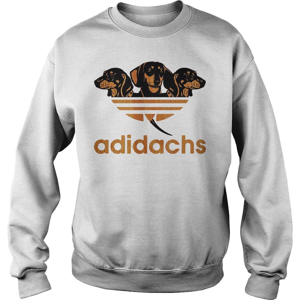 Adidas Dachshund Adidachs Shirt Sweatshirt Unisex