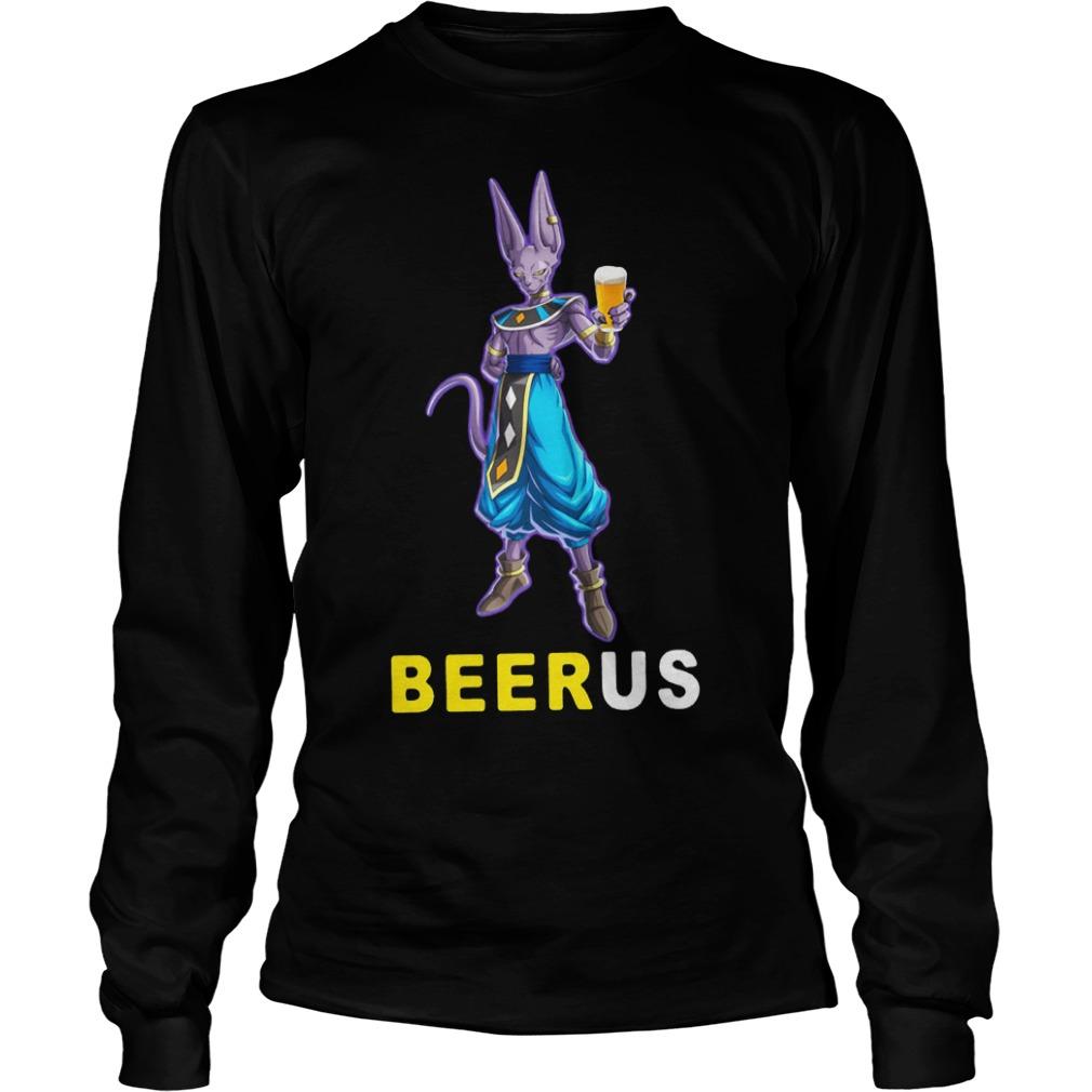 Beerus Dragon Ball Shirt Longsleeve Tee Unisex
