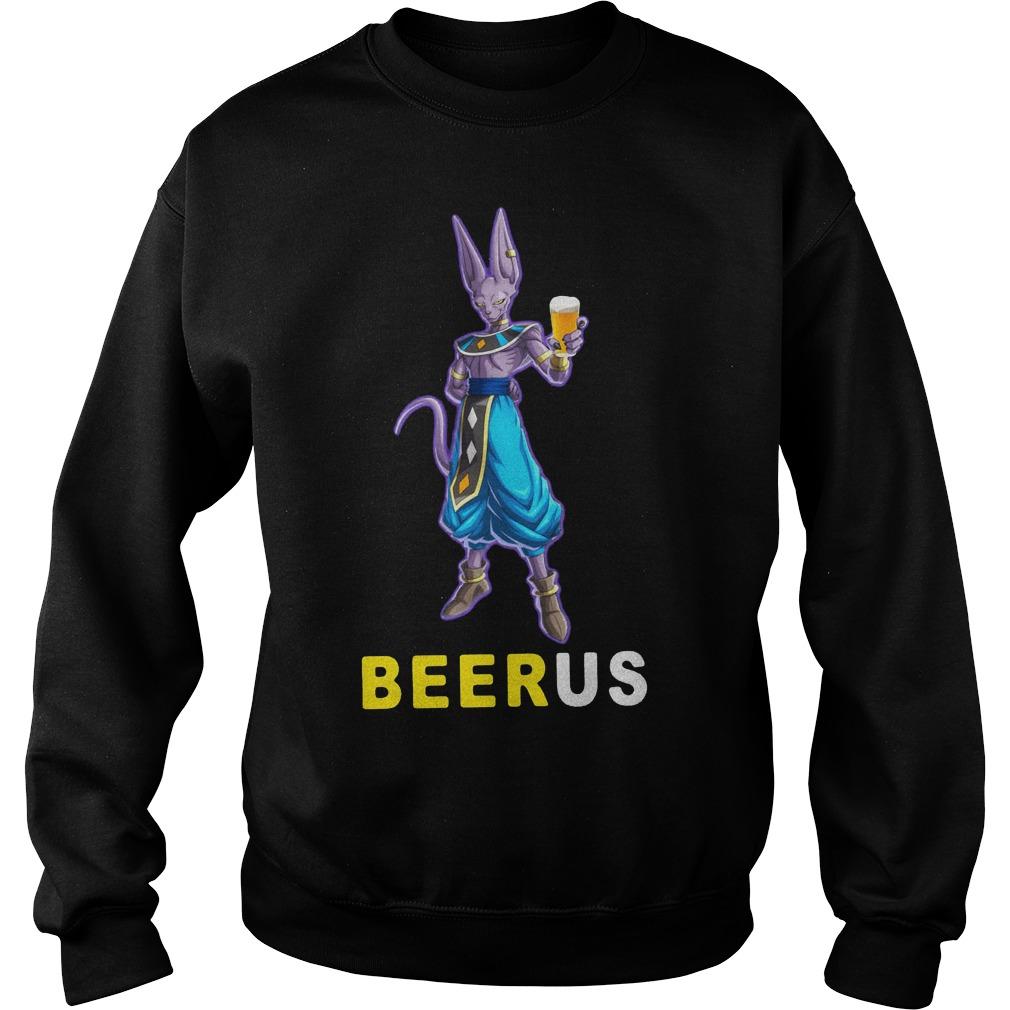 Beerus Dragon Ball Shirt Sweatshirt Unisex