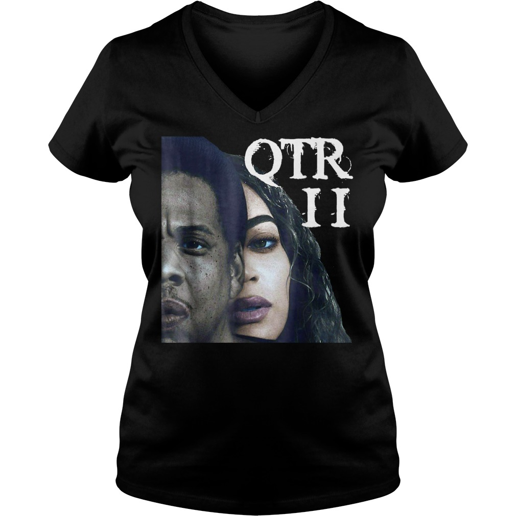 Beyhive On the Run OTR II Tour Bey Beychella Graphic Shirt Ladies V-Neck