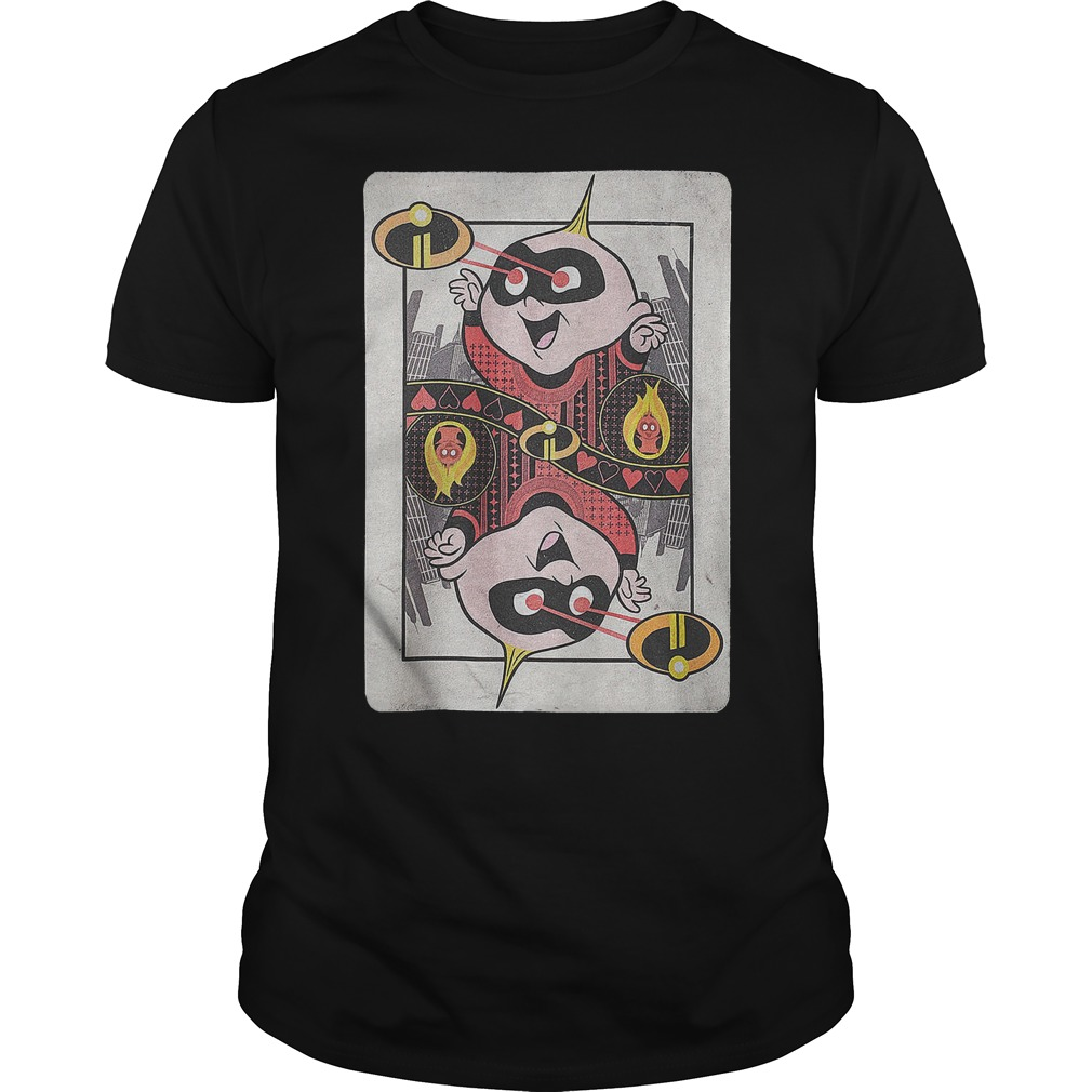 Card Jack-Jack Incredibles 2 shirt