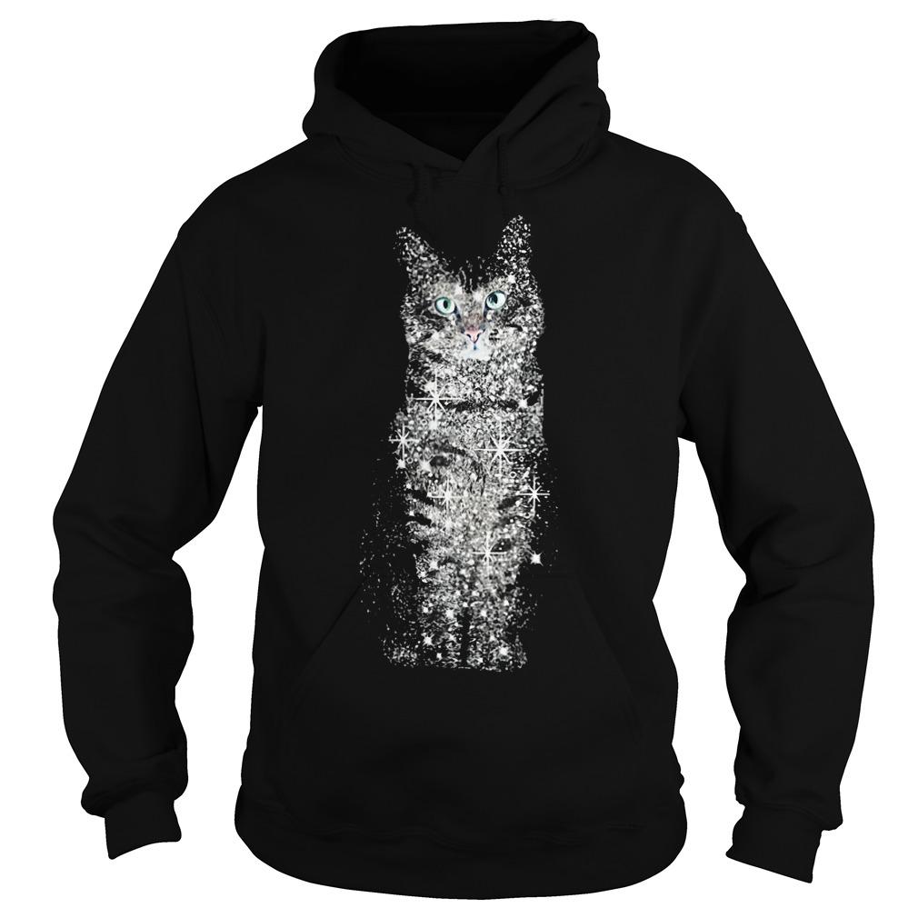 Cat bling shirt Hoodie