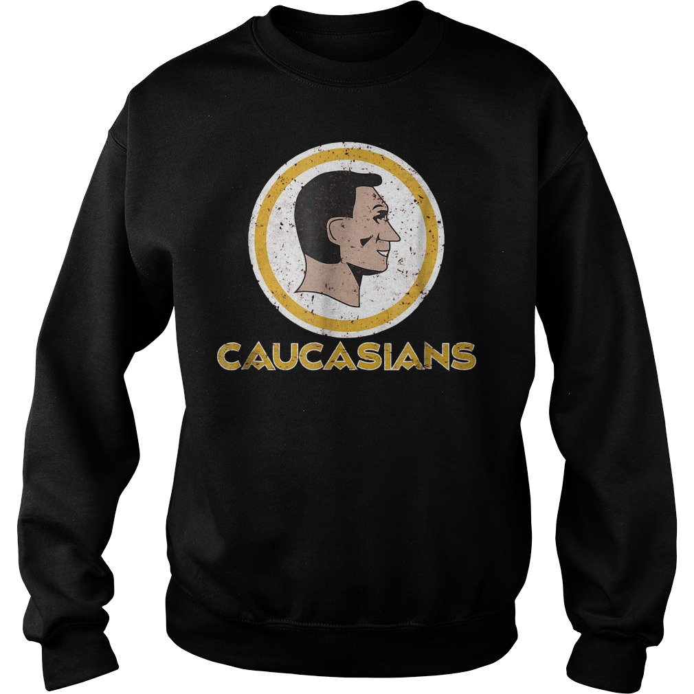 Caucasians Pride Shirt Sweatshirt Unisex