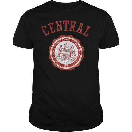 Central High School of Philadelphia shirt