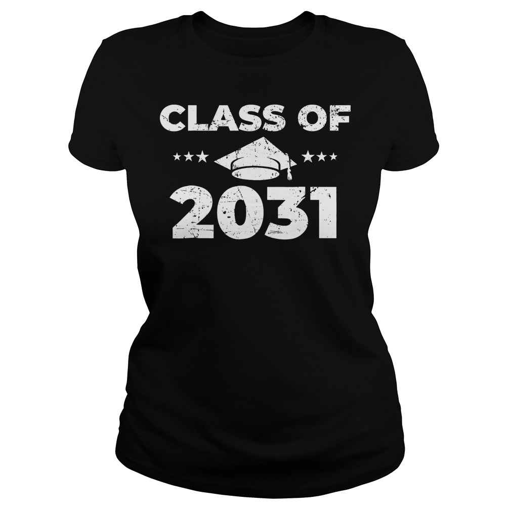 Class of 2031 Shirt Classic Ladies Tee