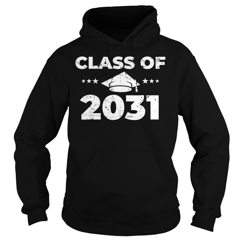 Class of 2031 Shirt Hoodie