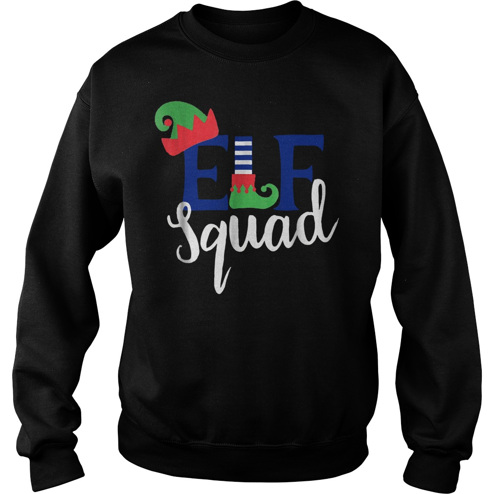 Family Christmas ELF Squad shirt Sweatshirt Unisex