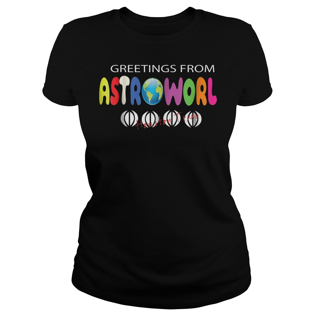 Getting From Astroworld Shirt Classic Ladies Tee