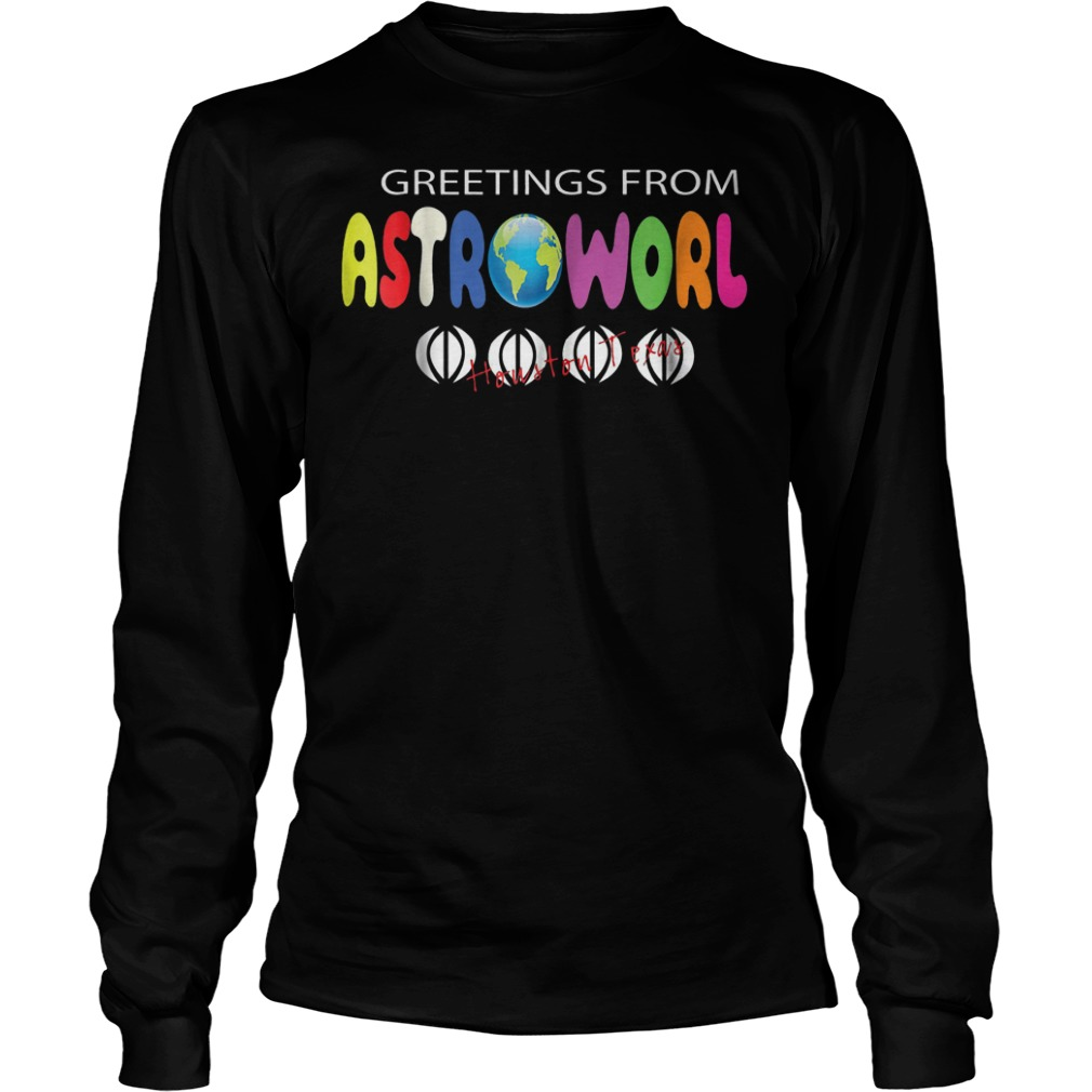 Getting From Astroworld Shirt Longsleeve Tee Unisex
