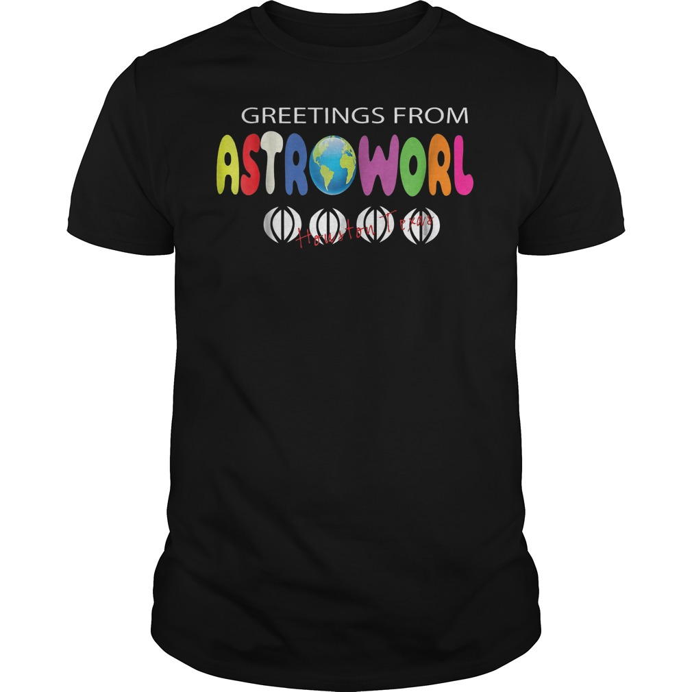 Getting From Astroworld Shirt