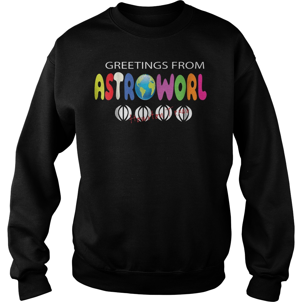 Getting From Astroworld Shirt Sweatshirt Unisex