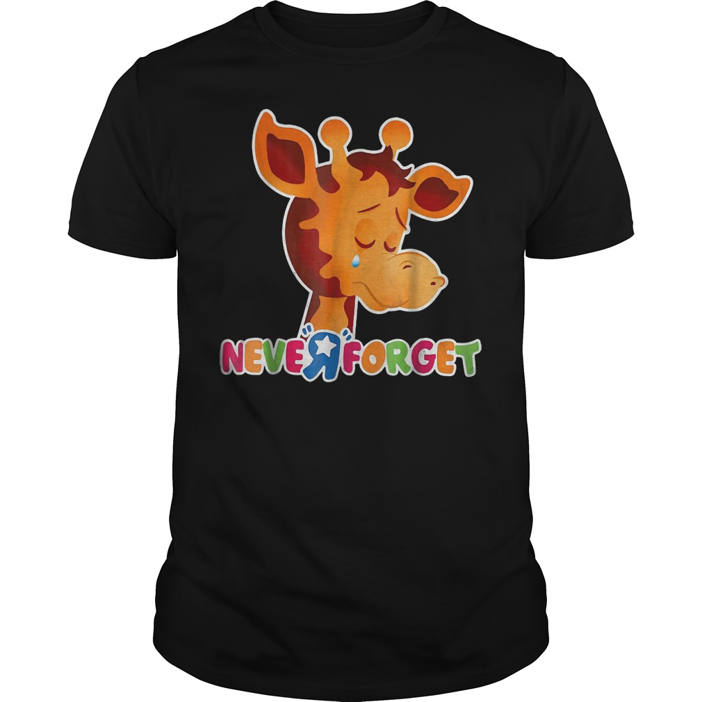 Giraffe Never Forget Shirt