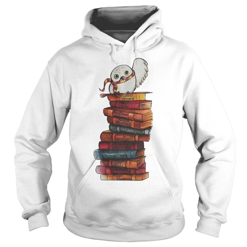Harry Potter - Owl And Books Shirt Hoodie
