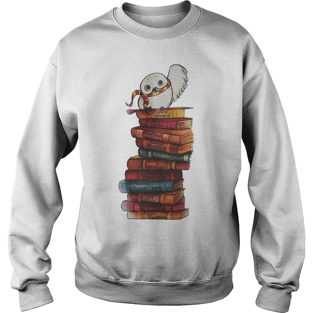 Harry Potter - Owl And Books Shirt Sweatshirt Unisex
