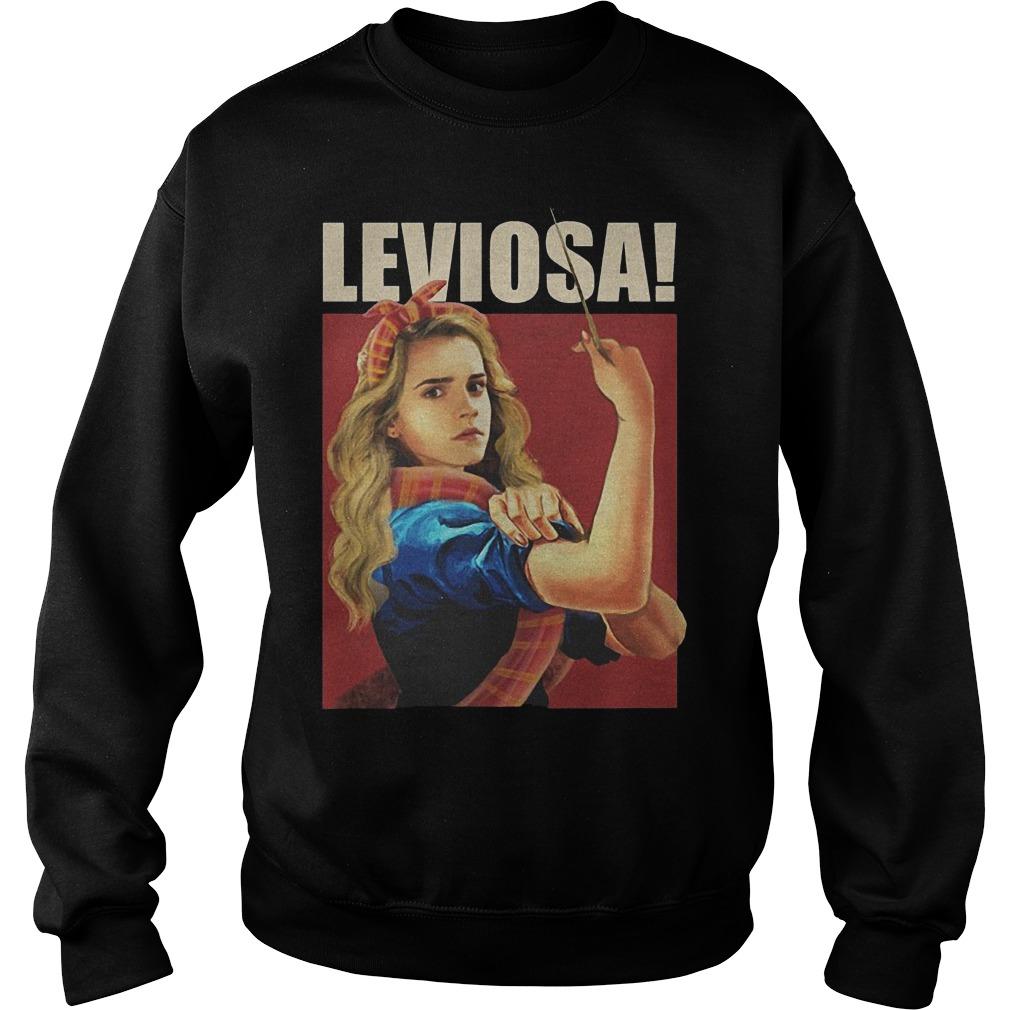 Hermione Granger Leviosa Harry Porter Shirt Sweatshirt Unisex