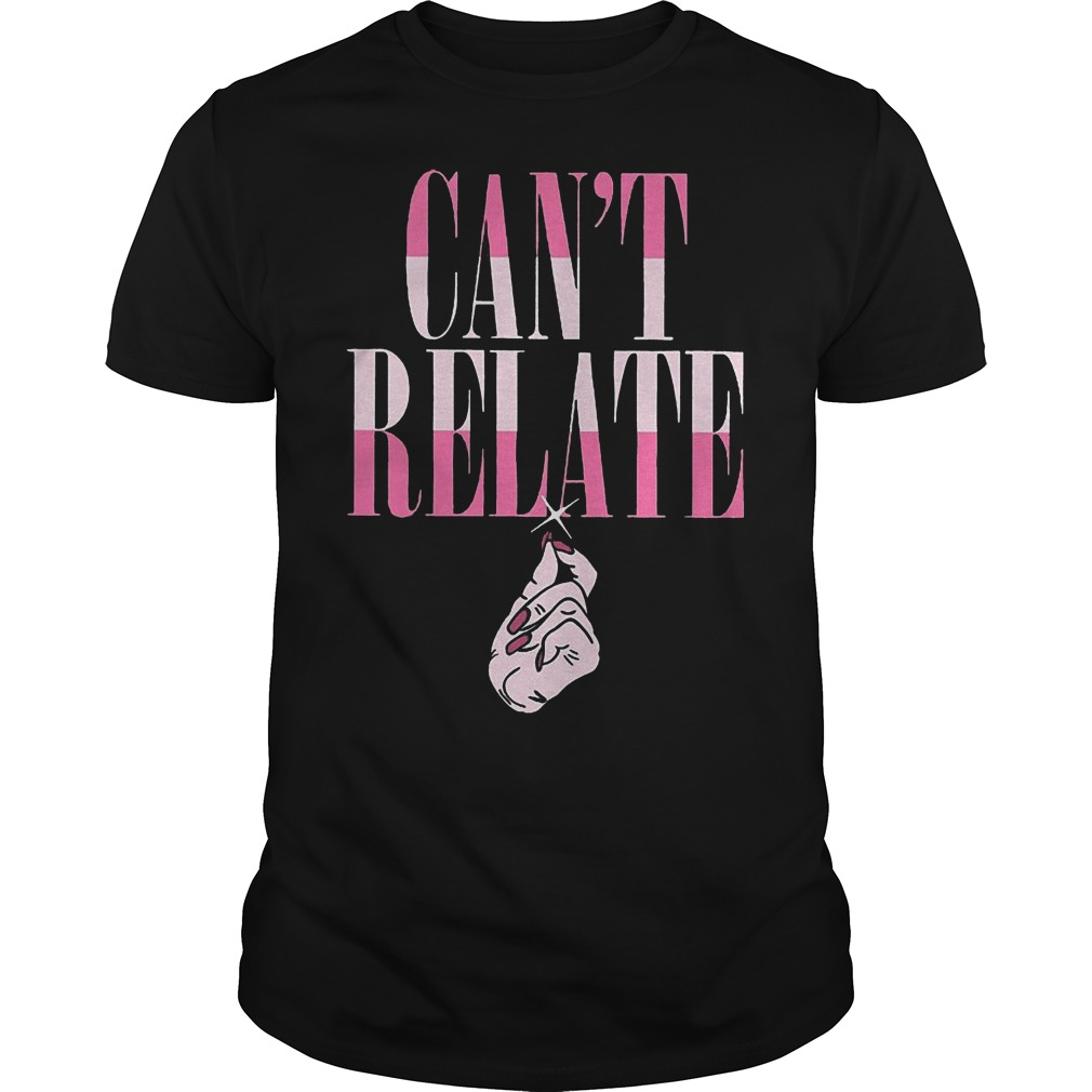 Jeffree Star Can't Relate shirt