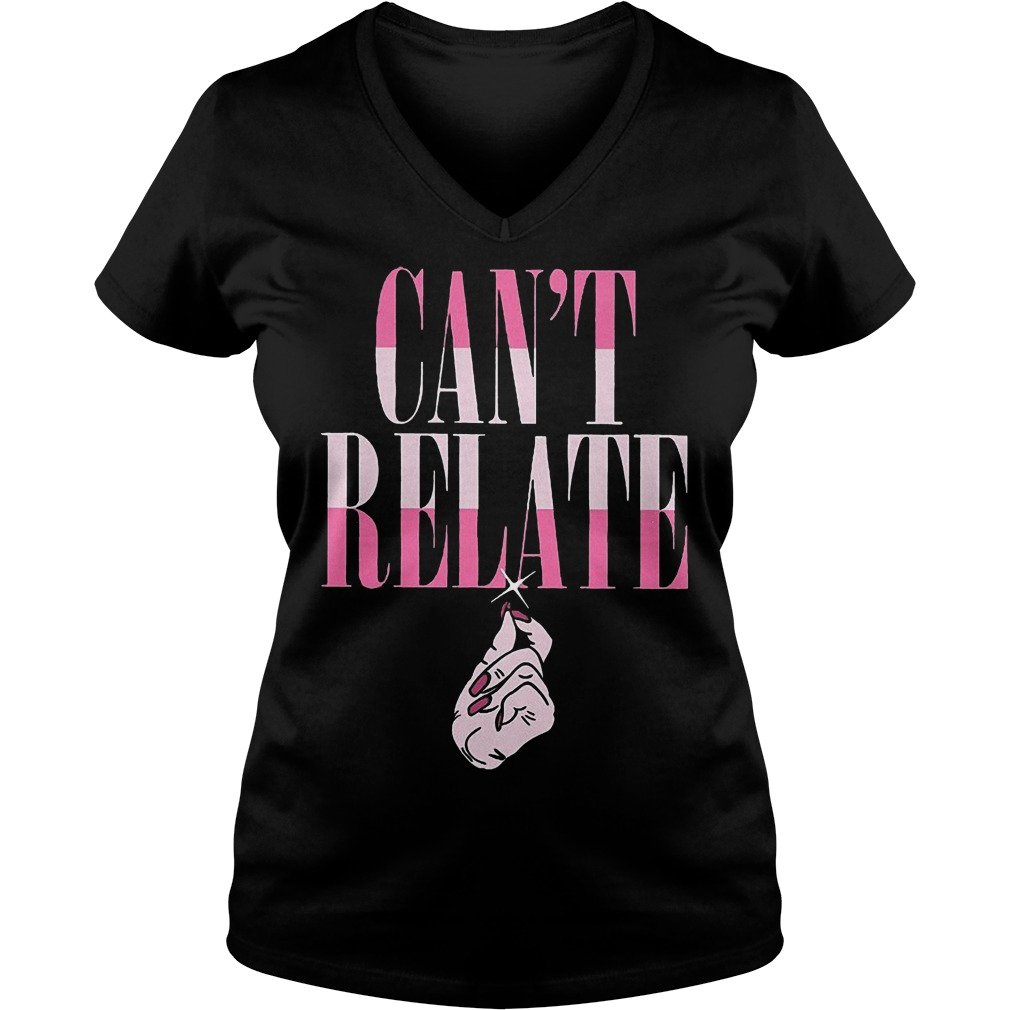 Jeffree Star Can't Relate shirt Ladies V-Neck