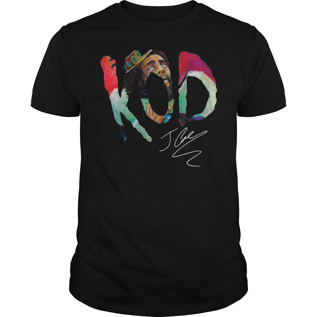 Kod J Cole Signed Autograph shirt