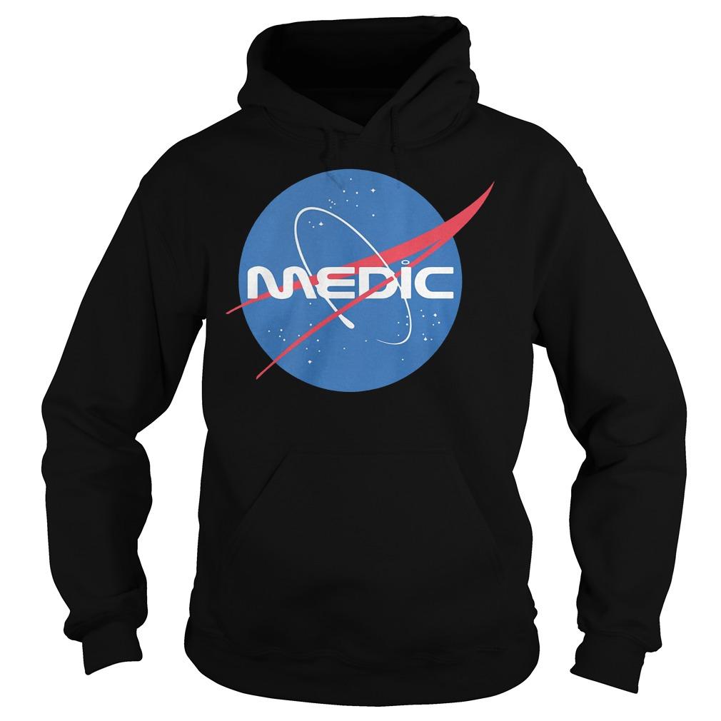 Medic Space Force shirt Hoodie