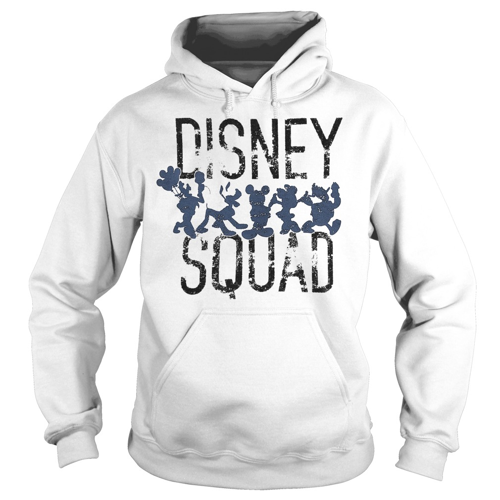 Mickey Mouse Disney Squad Shirt Hoodie