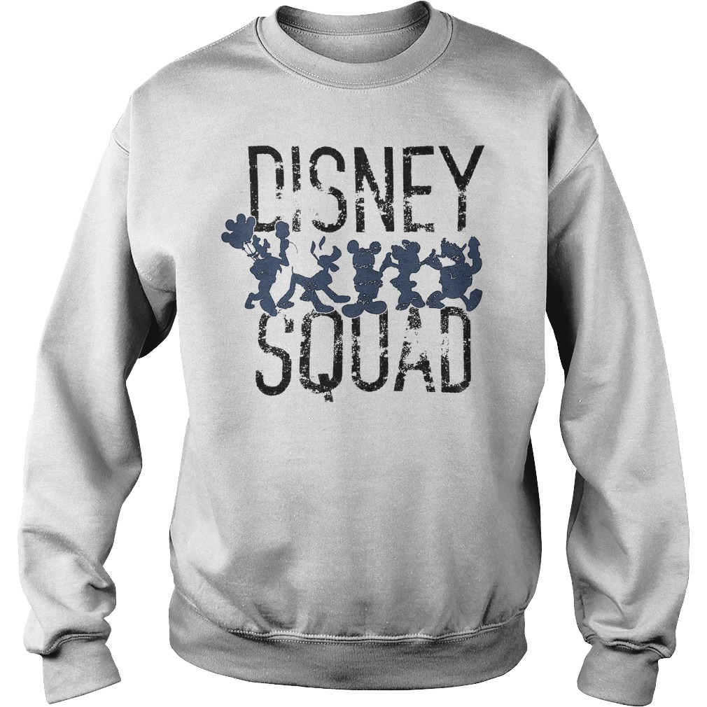 Mickey Mouse Disney Squad Shirt Sweatshirt Unisex