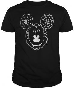 Mickey Mouse Spiderweb shirt