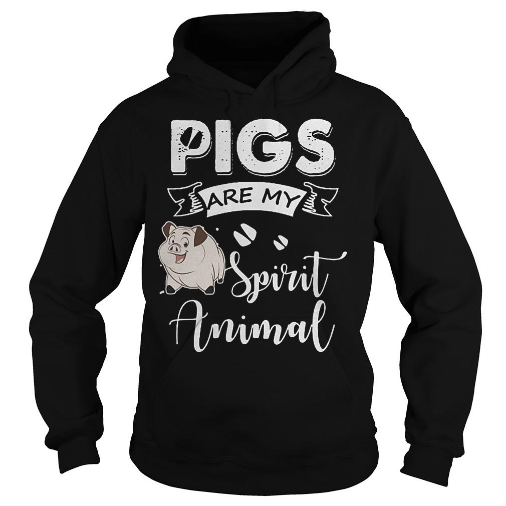 Pig Are My Spirit Animal Shirt Hoodie