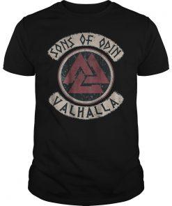 Viking Sons Of Odin Valhalla shirt
