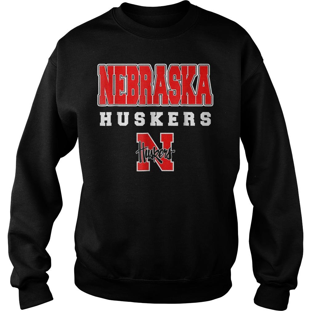 Nebraska Huskers shirt Sweatshirt Unisex
