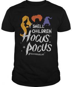 Teacher Smell children hocus pocus Shirt