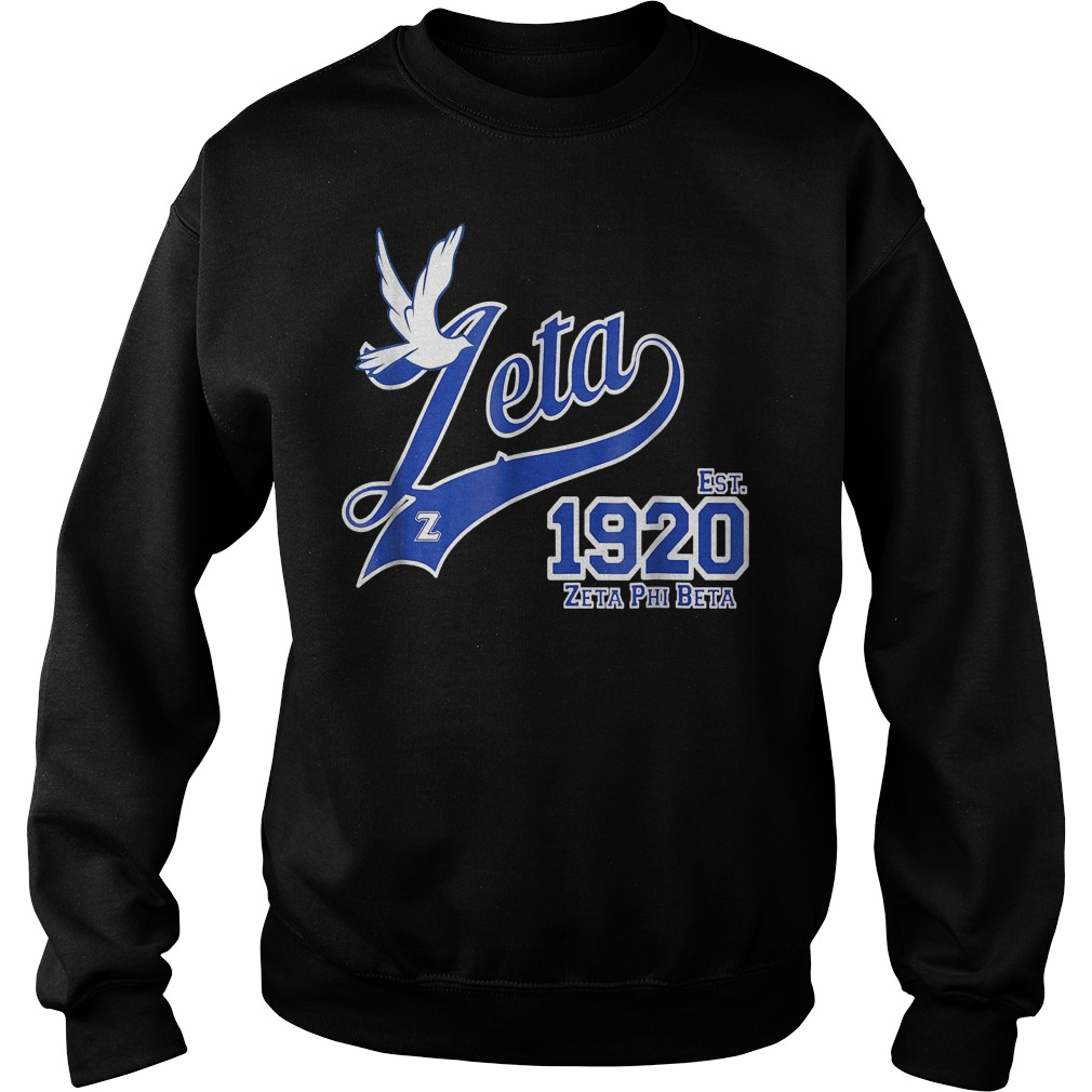 Zeta Phi Beta shirt Sweatshirt Unisex