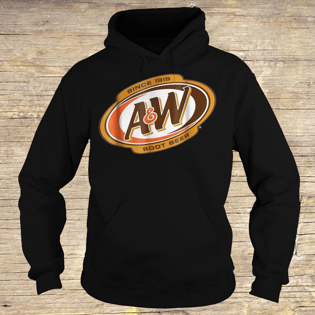 A&W Root Beer Since 1918 shirt