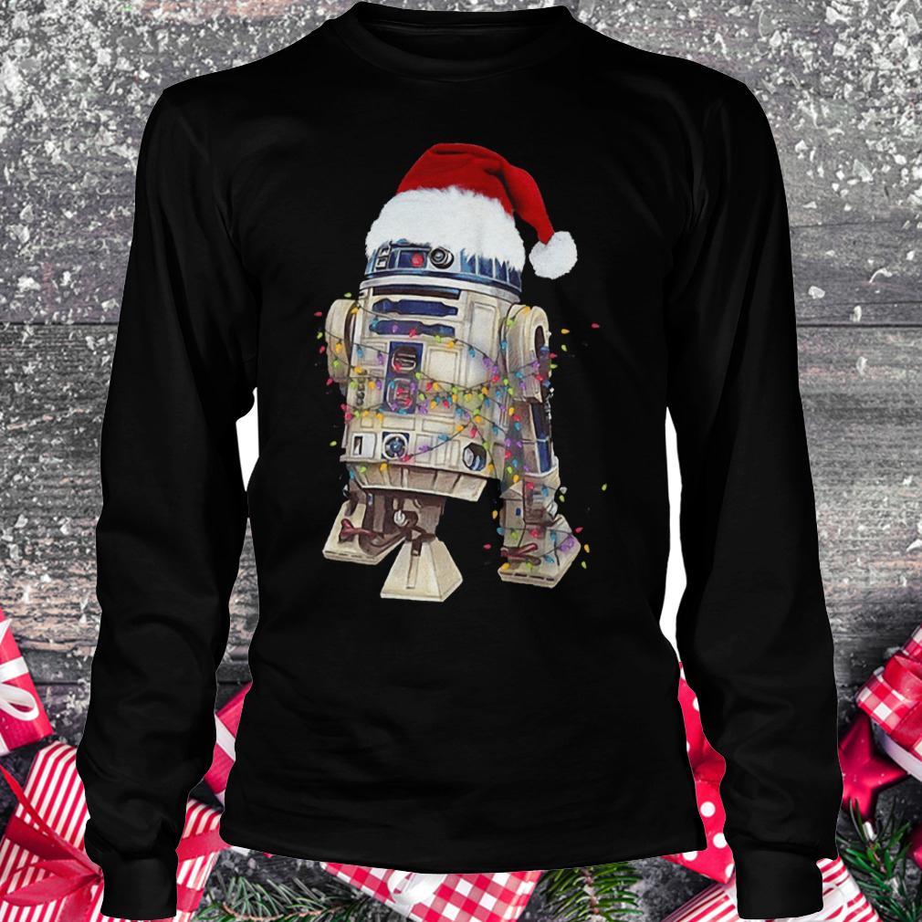 Christmas Artoo Detoo Star Wars shirt Longsleeve Tee Unisex