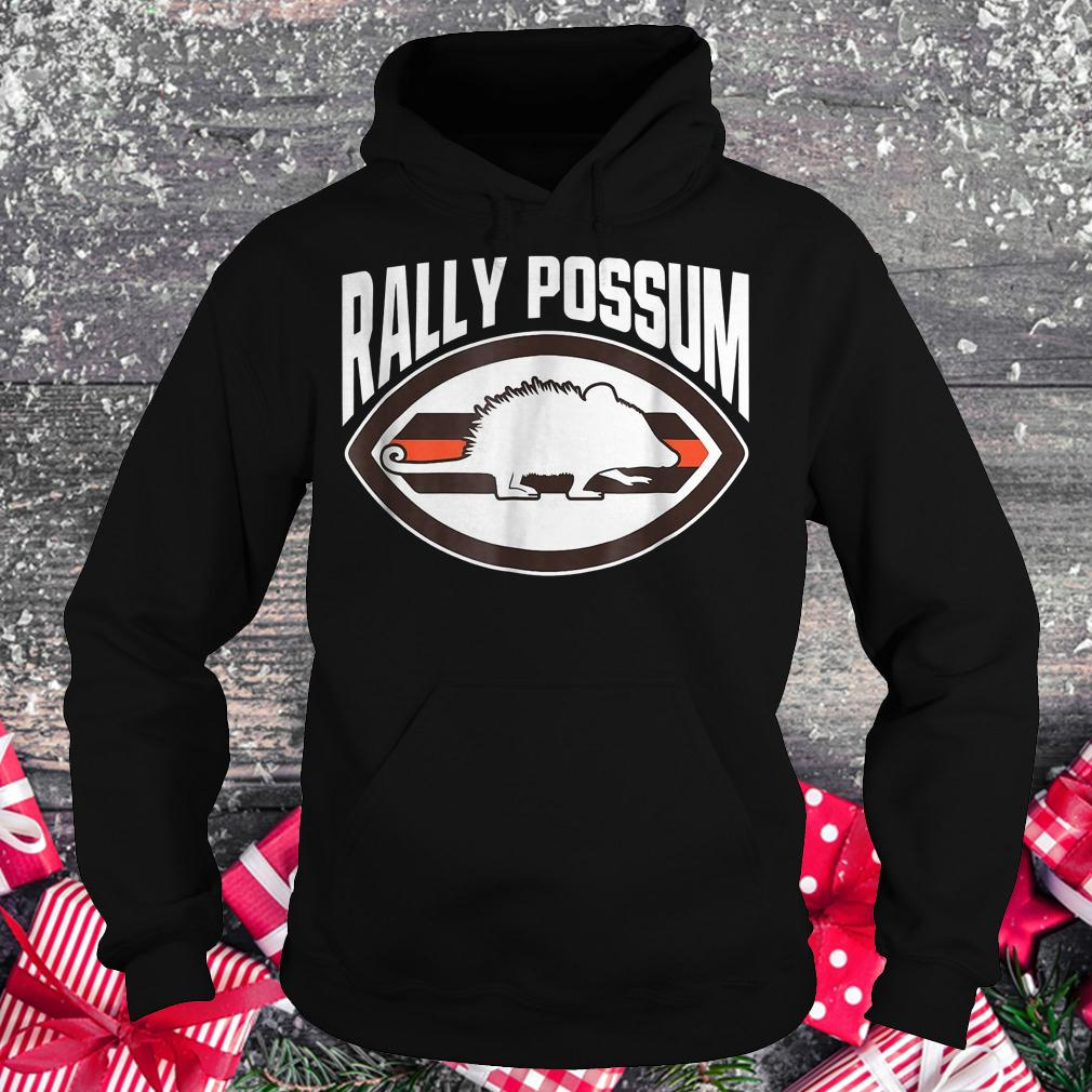 Cleveland Browns Christmas Sweater.Cleveland Browns Rally Possum Shirt Hoodie Sweater