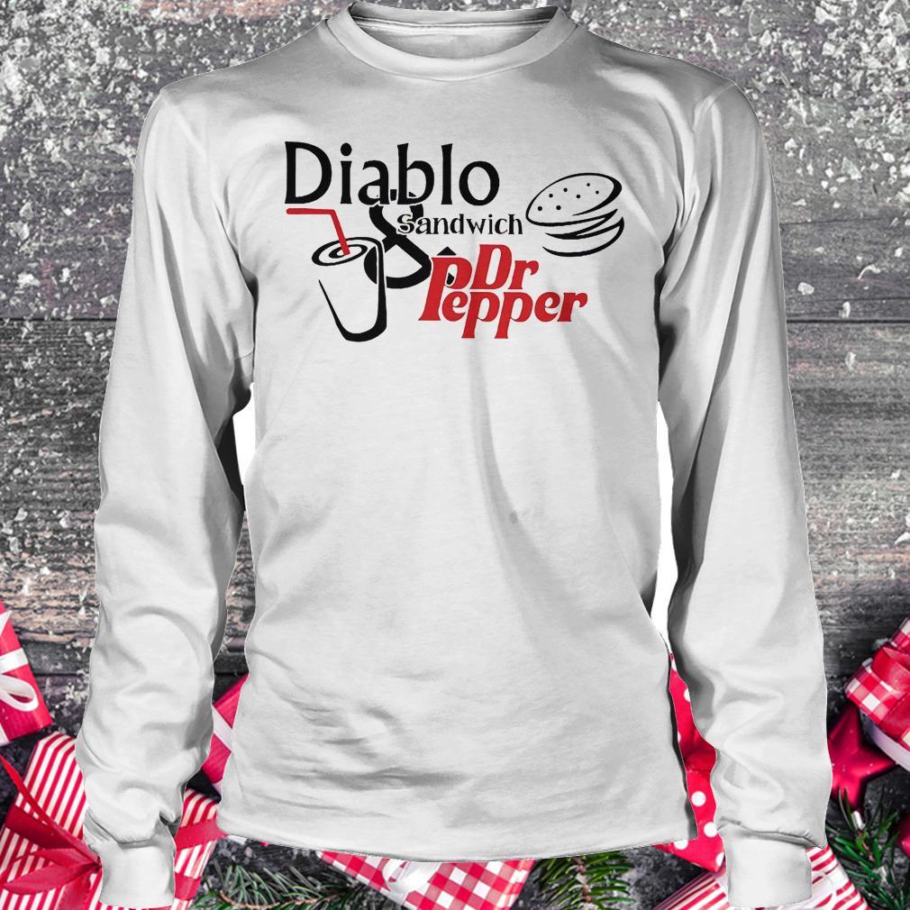 Diablo sandwich and Dr Pepper shirt Longsleeve Tee Unisex