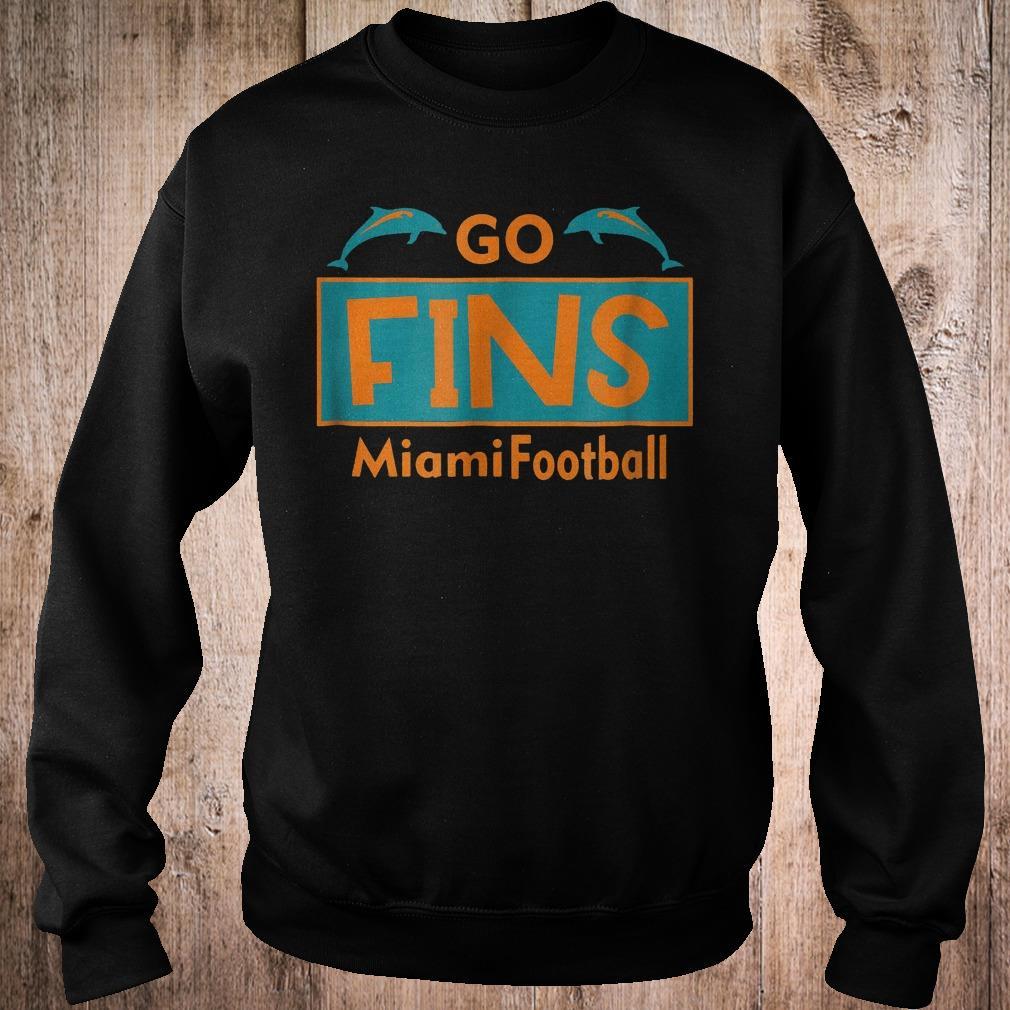 Go Fins Miami Football dolphin shirt Sweatshirt Unisex