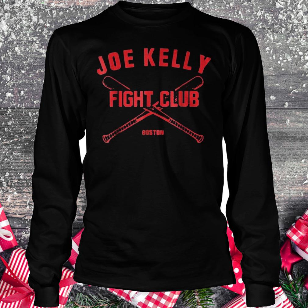 Joes Kelly fights club Boston shirt Longsleeve Tee Unisex