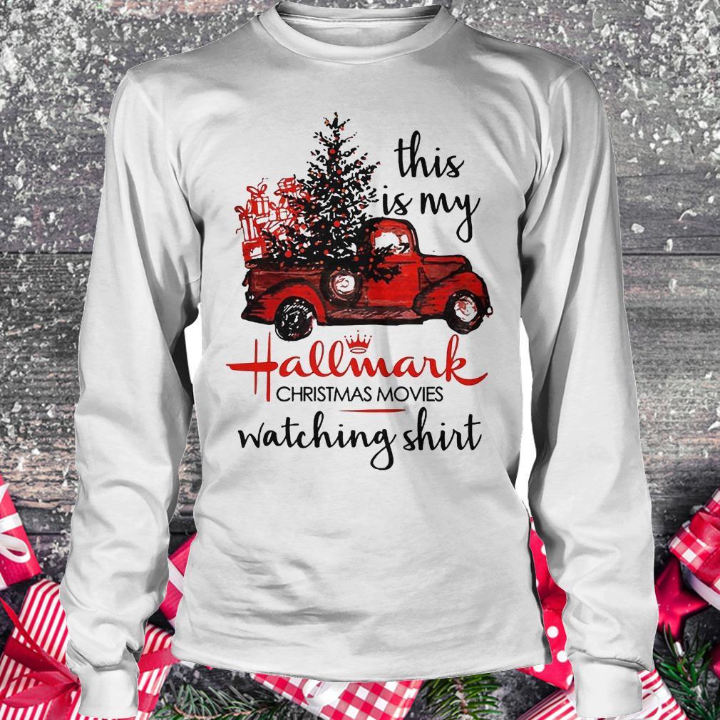 This is my Hallmark Christmas movies watching shirt Longsleeve Tee Unisex