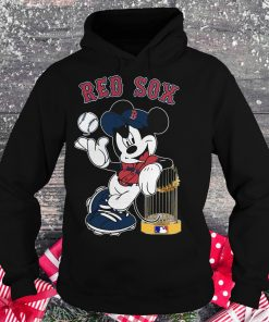 Awesome Red Sox Mickey Mouse shirt