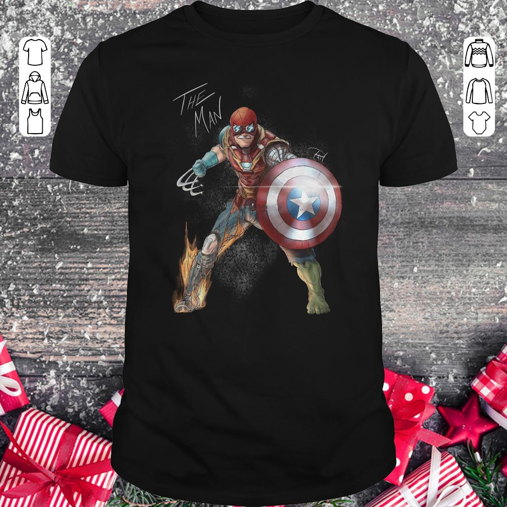 Awesome Stan Lee One With His Universe Shirt Classic Guys Unisex Tee 2 1.jpg