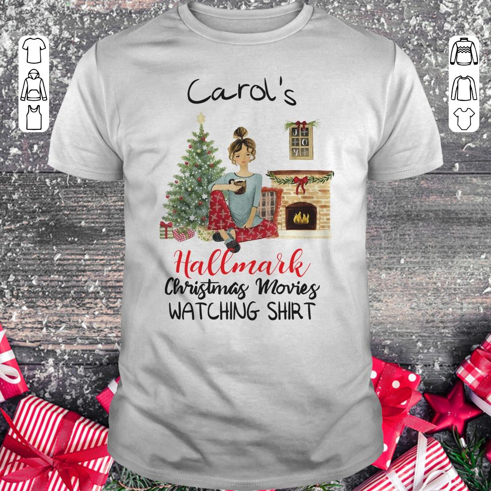 469a2d26d Best Price Carol S This Is My Hallmark Christmas Movie Watching Shirt  Classic Guys Unisex Tee